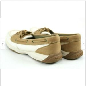 sperry Shoes - Sperry Top Sider Women's Boat Shoes Size 8 Beige